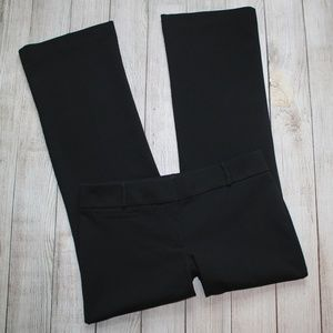 ANN TAYLOR LOFT 4P Black Dress Pants JULIE Trouser